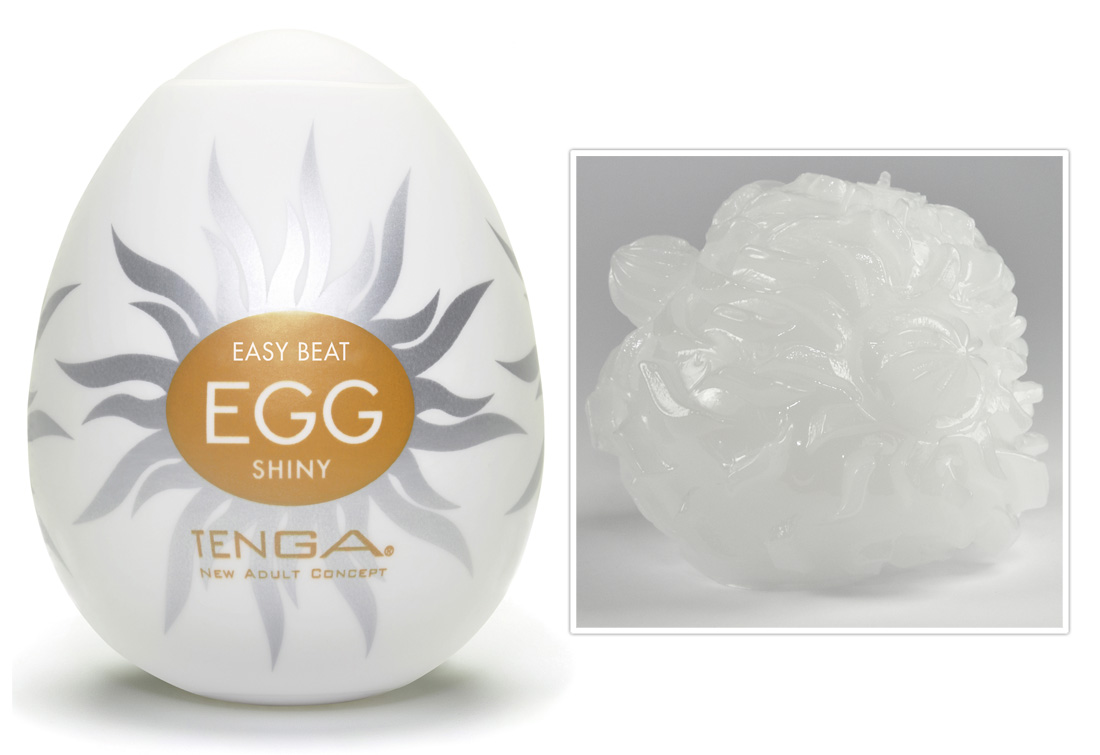 TENGA Egg Shiny (1 db) kép