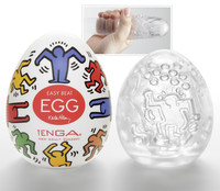 TENGA Keith Haring - Egg Dance (1 db) kép