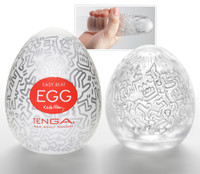 TENGA Keith Haring - Egg Party (1 db) kép